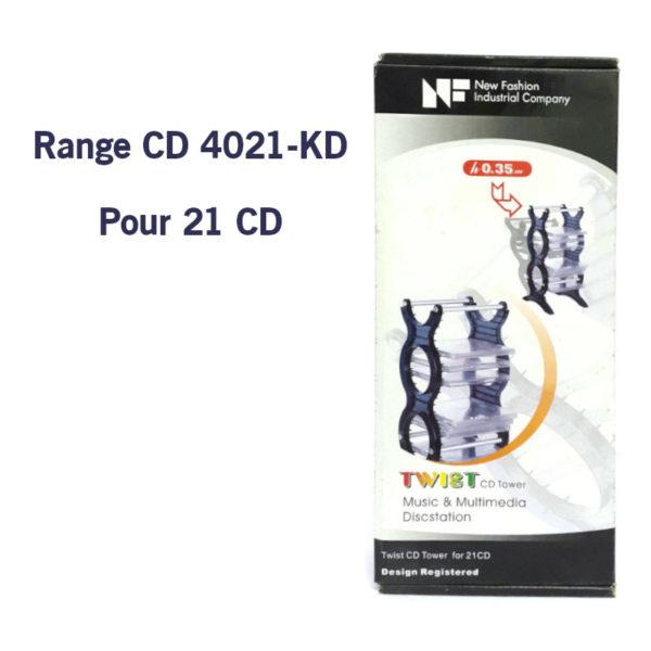 Range CD 4021-KD pour 21 CD New Fashion