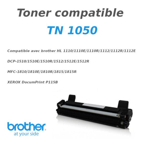 Toner BROTHER TN 1050 (compatible)