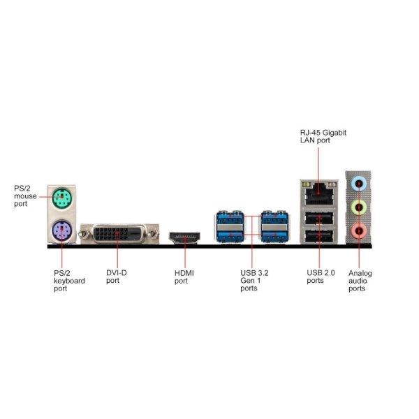 Carte Mère MSI A320M-A Pro Max Socket AM4 2*DDR4 image #05