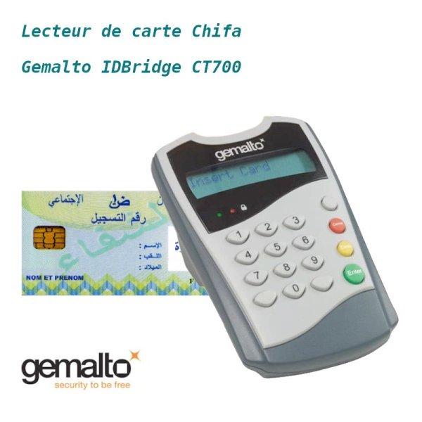 Lecteur carte Chifa Gemalto IDBridge CT700 image #00