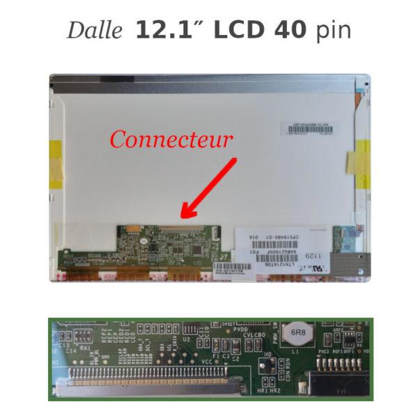 Dalle 12.1 LCD 40 pin pour pc portable LTN121AT06