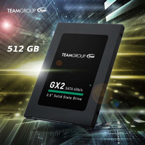 SSD TEAMGROUP GX2 512GB 2.5 Sata 6Gb s image #01