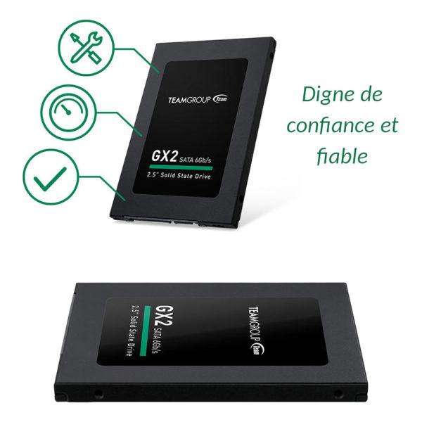 SSD TEAMGROUP GX2 512GB 2.5 Sata 6Gb s image #03