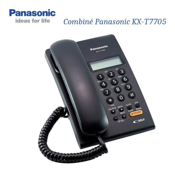 Combiné Panasonic KX-T7705