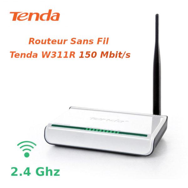 Routeur Sans Fil Tenda W311R 150 Mbits/s image #01