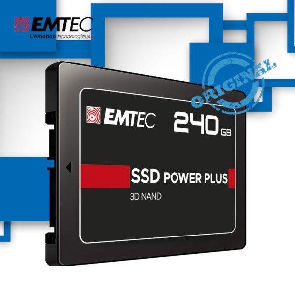 "SSD 240GB EMTEC X150 ECSSD 2.5"" SATA III 6Gb S image #01"