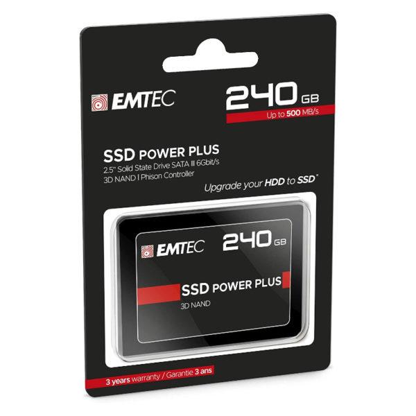 "SSD 240GB EMTEC X150 ECSSD 2.5"" SATA III 6Gb S image #03"