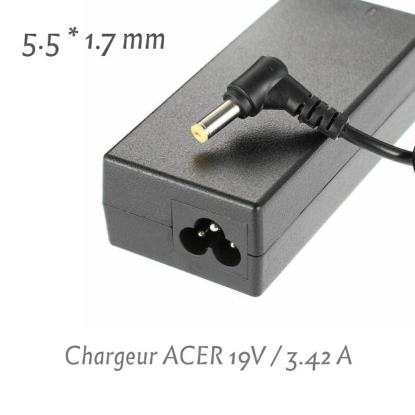 Chargeur Acer 19V 3.42 A (5.5x1.7)