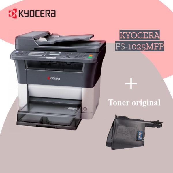 Imprimante multifonction Kyocera fs-1025mfp +toner original