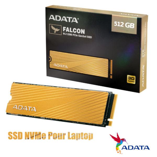 SSD NVMe ADATA 512GB Falcon M.2 2280 3D NAND PCIe image #01