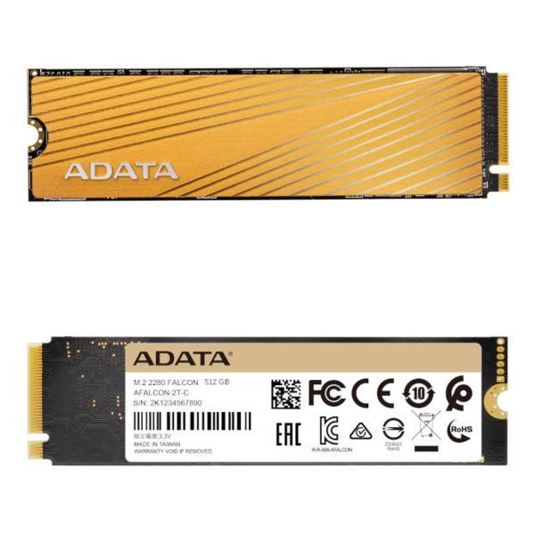 SSD NVMe ADATA 512GB Falcon M.2 2280 3D NAND PCIe image #02
